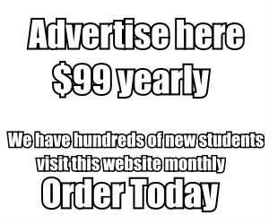Advertise to new students click here to learn more